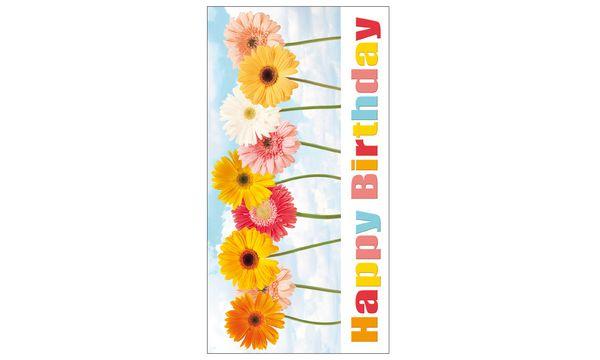 SUSY CARD Geburtstagskarte Gerberas