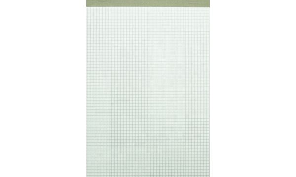 LANDRÉ Notizblock Recycling DIN A5, 5 mm kariert