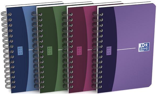 Oxford Office Spiralbuch, 90 x 140 mm, kariert, 90 Blatt...