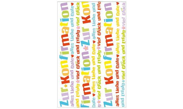 SUSY CARD Konfirmationskarte Text und Herzen