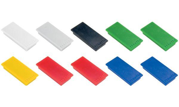 FRANKEN Haftmagnet, Haftkraft: 1.000 g, 50 x 23 mm, sort...