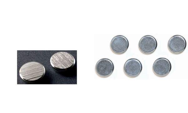 FRANKEN Chrom-Haftmagnet, Haftkraft: 8.000 g, Durchm. 22 mm