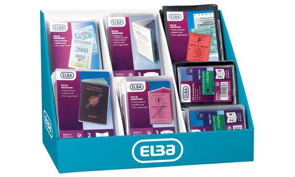 ELBA Ausweishülle, PVC, 93 Hüllen im Display