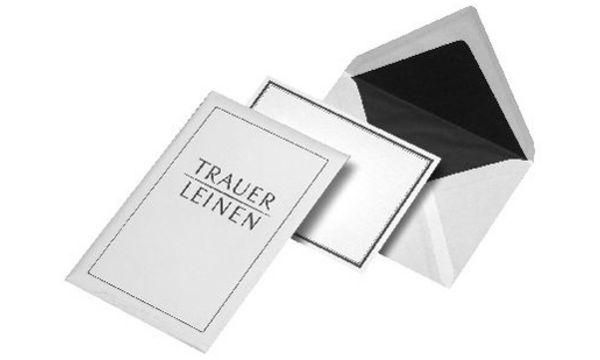 MAILmedia Trauerkarte, inkl. Briefumschlag