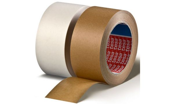 tesapack Verpackungsklebeband 4313, aus Papier, 50 mm x ...