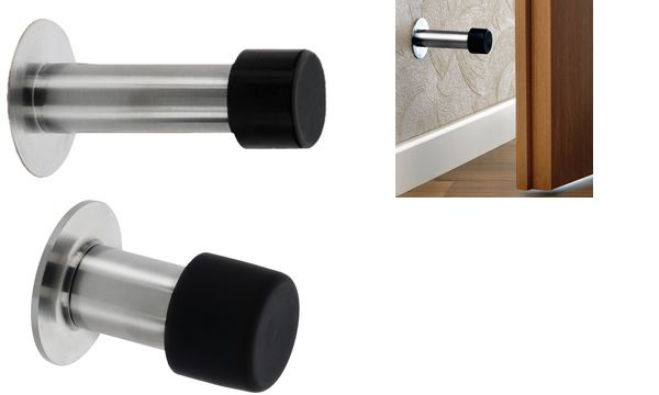 BURG-WÄCHTER Wand-Türstopper TSW 2365, Länge: 65 mm