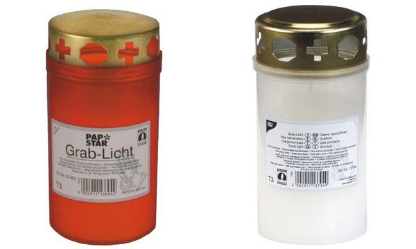 PAPSTAR Grablicht T3, Durchmesser: 64 mm, transparent