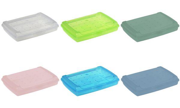 keeeper Brotdose luca, Click-Box Mini, natur-transparent