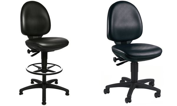 Topstar Arbeitsdrehstuhl TEC 50, schwarz