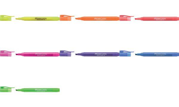 FABER-CASTELL Textmarker TEXTLINER 38, violett