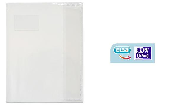 #25xELBA Heftschoner DIN A4, aus PVC 0,12 mm, farblos