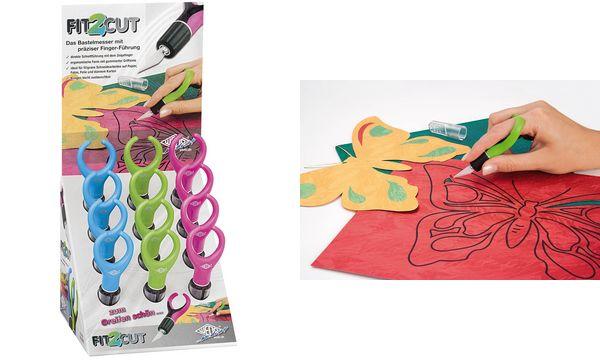 #12xWEDO Bastelmesser/Skalpell Fit2cut, 12er Display