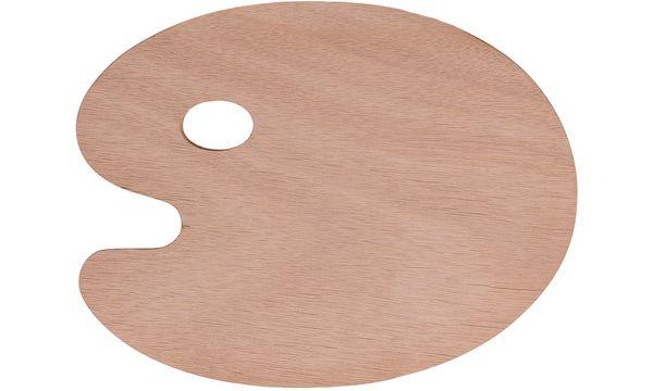 Marabu Farbmisch-Palette, aus Holz, oval