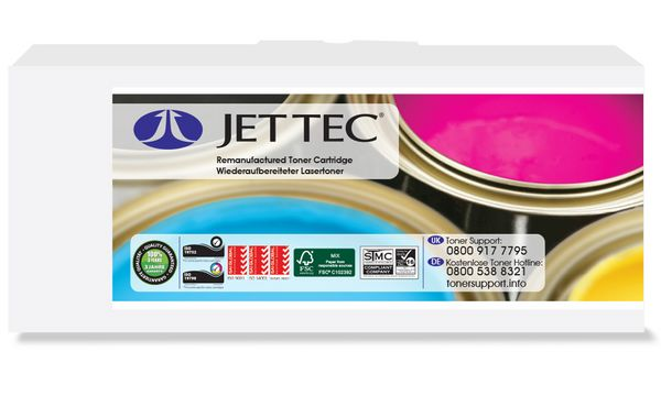 JET TEC Toner D1320CHC ersetzt Dell 593-10259, cyan