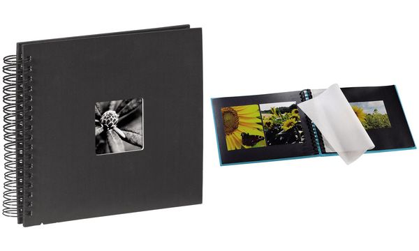 hama Foto-Spiralalbum Fine Art, 280 x 240 mm, schwarz