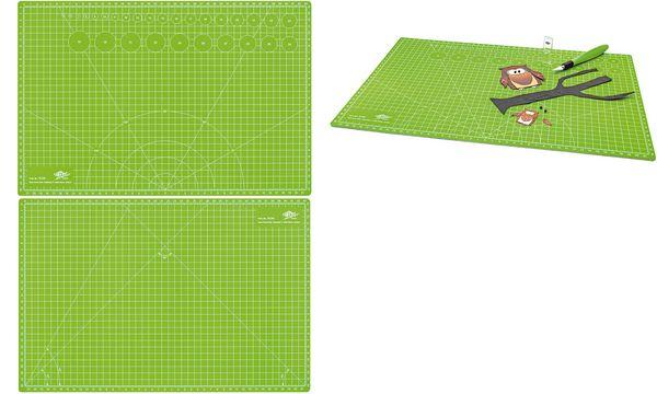 WEDO Schneide- & Bastelmatte Comfortline, DIN A2, grün