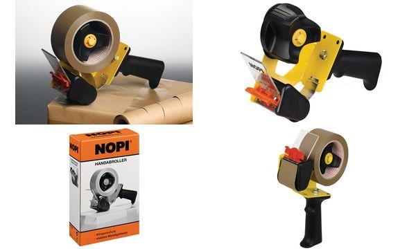 NOPI Handabroller Economy für Verpackungsklebeband