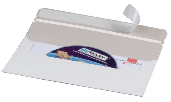 #25xsmartboxpro CD/DVD-Brief, DIN lang, mit Fenster link...