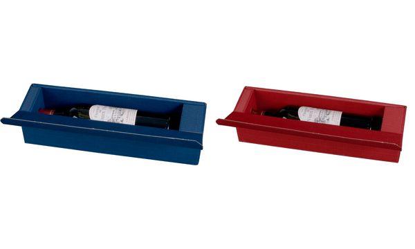 smartboxpro Wein-Präsentkarton, für 1 Flasche, bordeaux