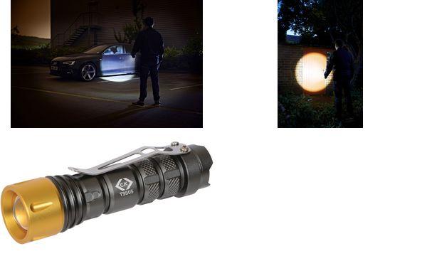 C.K LED-Taschenlampe T9505, Helligkeit: 100 Lumen