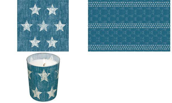 Paper+Design Tischdecke Stella blue