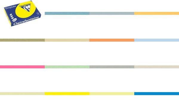 Clairalfa Universal-Papier Trophée, A4, 120 g/qm, blau