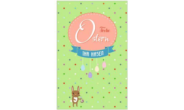 SUSY CARD Oster-Grußkarte Banner