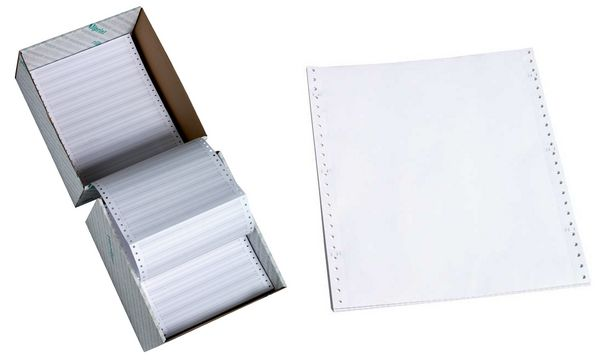 rillprint Computerpapier endlos, 240 mm x 12 (30,48 cm)