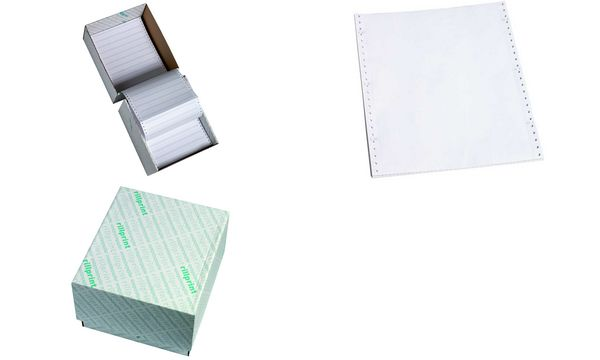 rillprint Computerpapier endlos, 240 mm x 8 (20,32 cm)