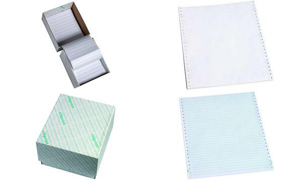 rillprint Computerpapier endlos, 380 mm x 11 (27,94 cm)