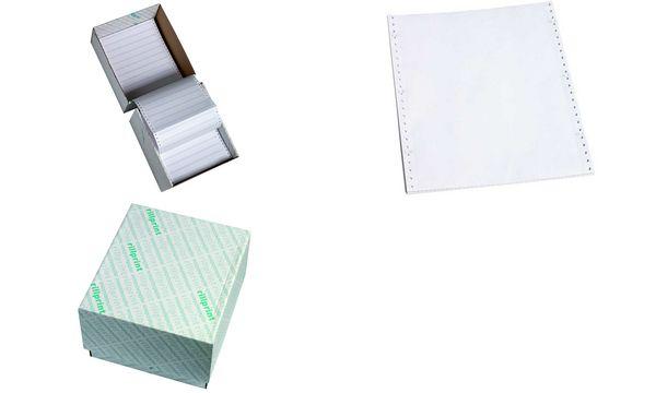 rillprint Computerpapier endlos, DIN A4