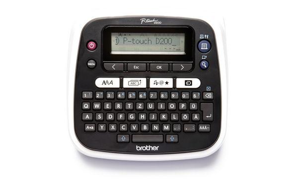 brother Tisch-Beschriftungsgerät P-touch D200BW