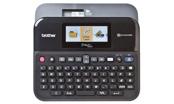 brother Tisch-Beschriftungsgerät P-touch D600VP