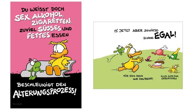 SUSY CARD Geburtstagskarte - Humor Beschleunigt