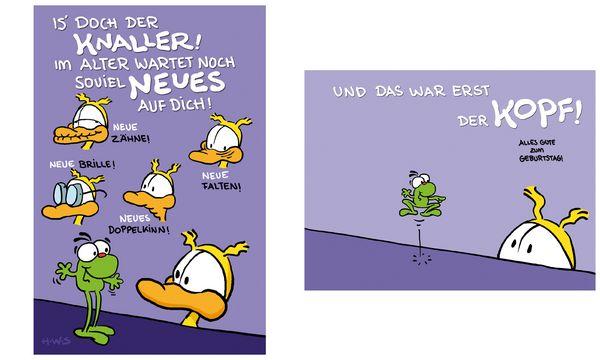 SUSY CARD Geburtstagskarte - Humor Is doch der Knaller!