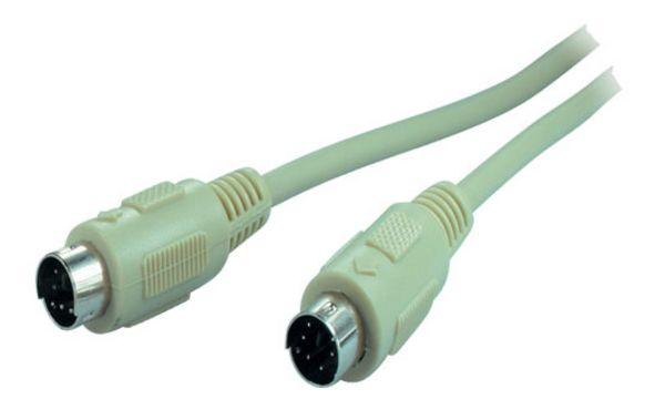 shiverpeaks BASIC-S PS/2 Tastatur / Maus Kabel, 1,8 m