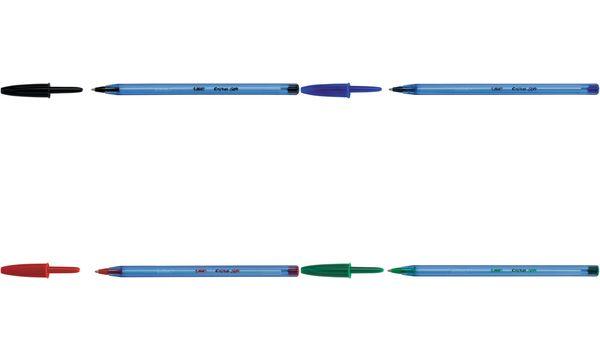 BIC Kugelschreiber Cristal Soft, Strichfarbe: rot