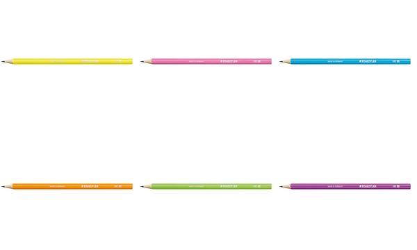 STAEDTLER Bleistift Neon, Härtegrad: HB, neon-violett