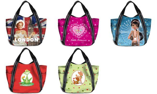 HERMA Shopping Bag Mini Shopper, Motiv: Rehkitz