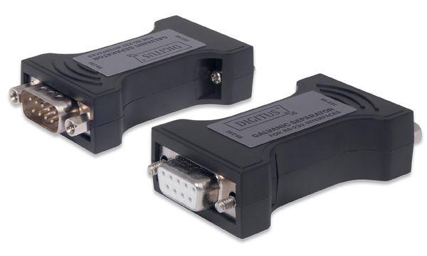 DIGITUS Konverter von RS-232 zu TTL, galvanische Trennung
