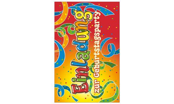 SUSY CARD Einladungskarten - Allgemein Schrift