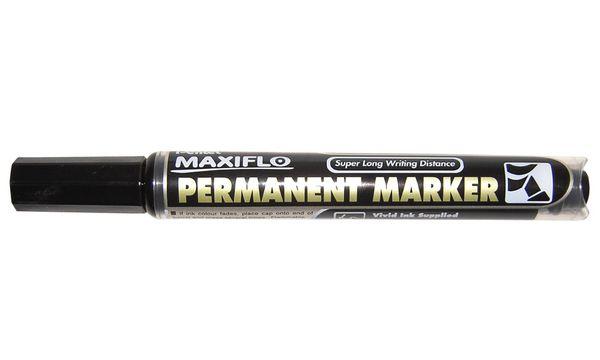 Pentel Permanent-Marker MAXIFLO NLF60, schwarz