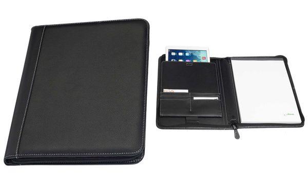 rillstab iPad Organizer Geneve, Kunstleder, schwarz