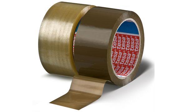 #6xtesapack Verpackungsklebeband 4280, aus PP, 50 mm x 66 m