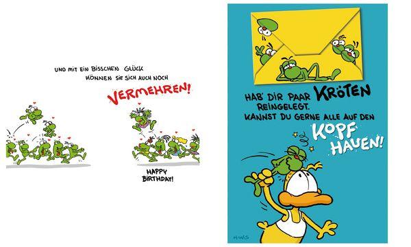 SUSY CARD Geburtstagskarte - Humor Ein paar Kröten