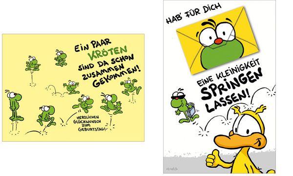 SUSY CARD Geburtstagskarte - Humor Eine Kleinigkeit