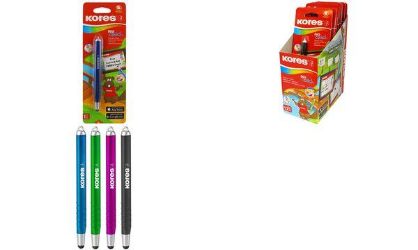 #12xKores Eingabestift Touch Pen Digi Coach, farbig so...