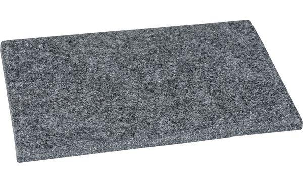 HEYDA Prickel-Filzunterlage, grau, 125 x 180 mm