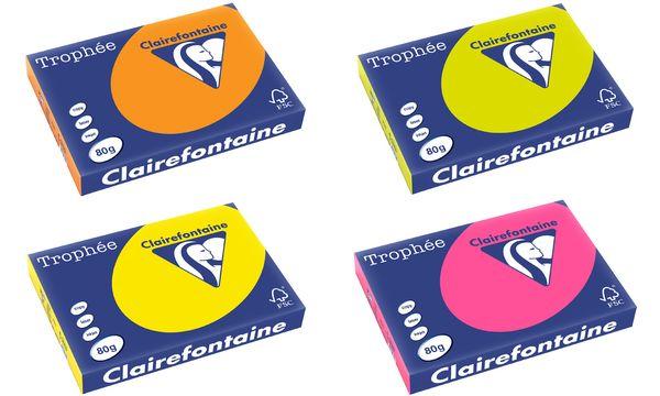 Clairalfa Multifunktionspapier Trophée, A3, neongrün