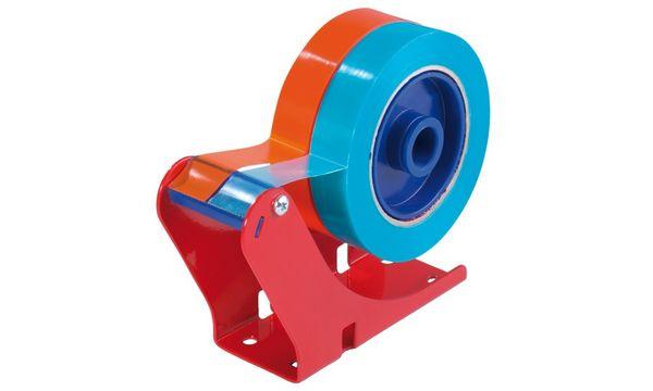 tesa Tischabroller 6012, Stahlgehäuse, Farbe: rot